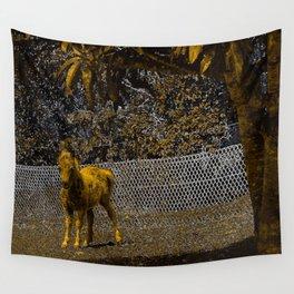 Cute miniature horse foal. Wall Tapestry