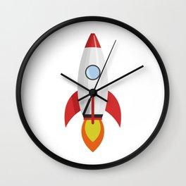 rocket Wall Clock