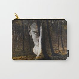 Portrait in the forest Carry-All Pouch