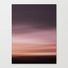 Landscape red (moving) Canvas Print