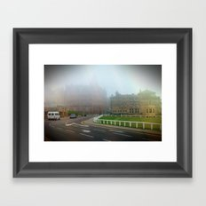 Foggy Andrews. Framed Art Print