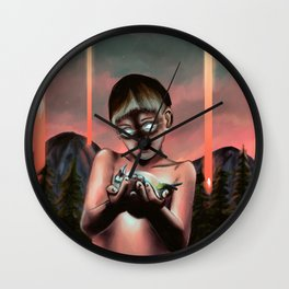 Connection Wall Clock