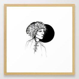 Dark Matter Framed Art Print