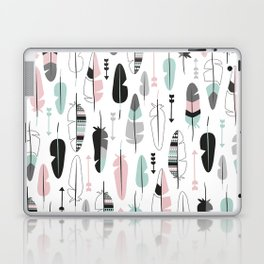 Arrows and feathers summer pattern Laptop & iPad Skin