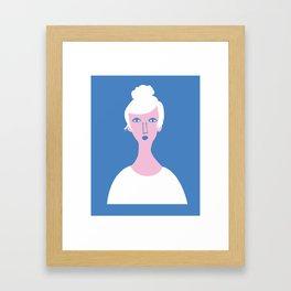 """""""Mona Lisa Has an Instagram or Whatever"""" Framed Art Print"""