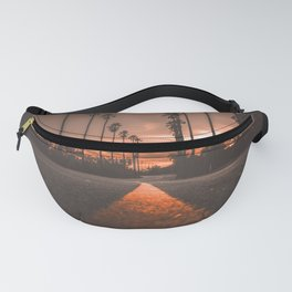 Road at Sunset Fanny Pack