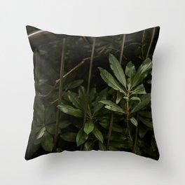 Nature finds a way Throw Pillow