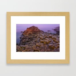 When the sun raises Framed Art Print