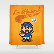 Earthbound & Down Shower Curtain