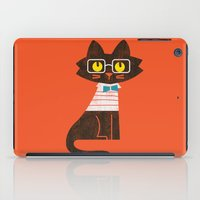 preppy iPad Cases featuring Fitz - Preppy cat by Picomodi
