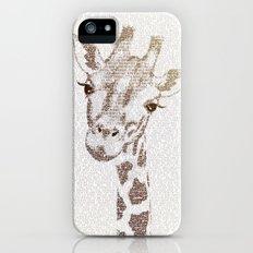 The Intellectual Giraffe iPhone (5, 5s) Slim Case