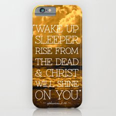 Wake Up Sleeper iPhone 6s Slim Case