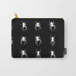 white spiders Carry-All Pouch