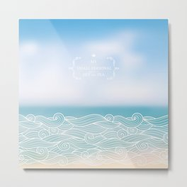 My personal sea Metal Print