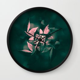 Arranged to Fall Wall Clock