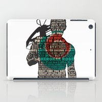 daryl dixon iPad Cases featuring Daryl Dixon with Quotes by rlc82