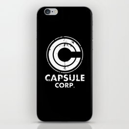 Capsule Corp Vintage white iPhone Skin