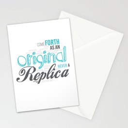 Be An Original Stationery Cards
