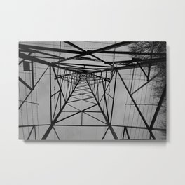 electricity pylon #2 Metal Print