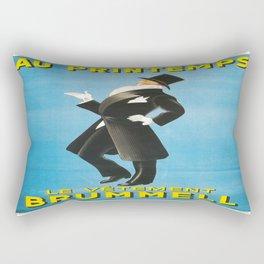Vintage poster - Au Printemps Rectangular Pillow