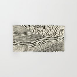 Hand Drawn Patterned Abstract II Hand & Bath Towel
