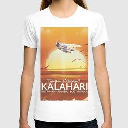 Kalahari Desert Adventure travel poster T-shirt