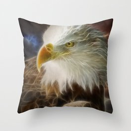 Freedom's Fire Throw Pillow