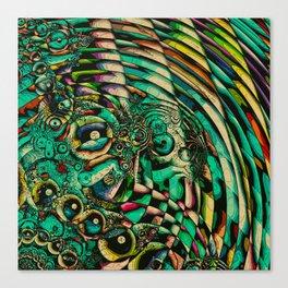 Squirm Canvas Print
