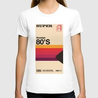 tape T-shirts featuring Super Tape by Mathiole