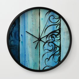 Four Waters Come to Life Wall Clock