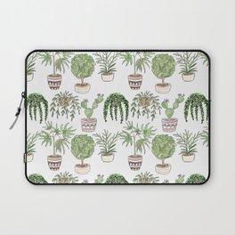 Watercolor . Plants . Laptop Sleeve