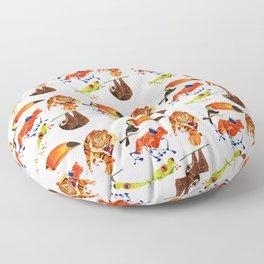 Rainforest animals 2 Floor Pillow