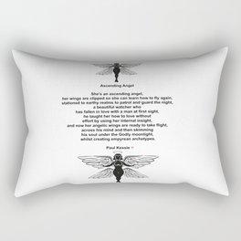 Ascending Angel Rectangular Pillow