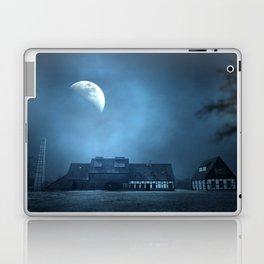 Half Moon Over Saxony Village Home Laptop & iPad Skin