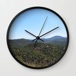 View in France, Le Plan De La Tour, Provence-Alpes-Côte d'Azur | Nature Photography | Photo Print | Wall Clock