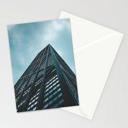 Hancock skyscraper// CHICAGO Stationery Cards