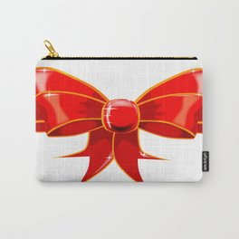 Isolated Red Ribbon Carry-All Pouch