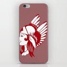 Angel of Mercy, Traditional American Tattoo Design iPhone & iPod Skin