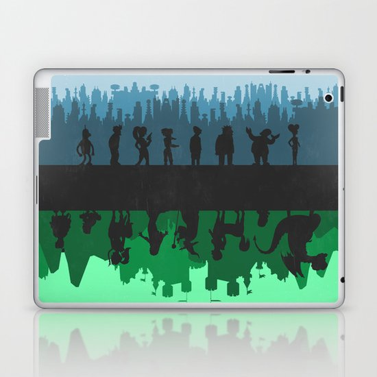 Futurama - Bender's Game Laptop & iPad Skin