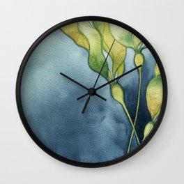 Bull Kelp Watercolor Wall Clock