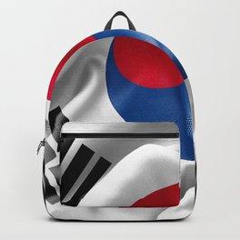 South Korea Flag Backpack