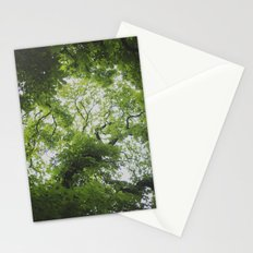 Up in the Trees Above Stationery Cards