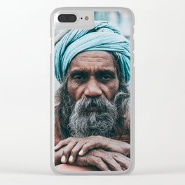 Indian Baba Clear iPhone Case