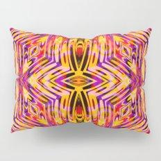 Funkydelic - Purple Yellow Red Geometric Pillow Sham