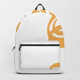 ornament and Arabic name Backpack