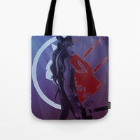 rwby Tote Bags featuring Reclaim our Destiny by Bellalyse