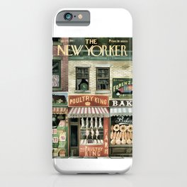 Vintage New Yorker Cover - Circa 1947 iPhone Case