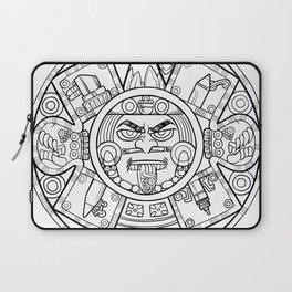 Pencil Wars Shield Laptop Sleeve
