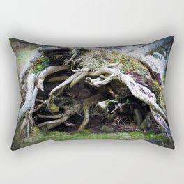 The enchanted fallen tree Rectangular Pillow