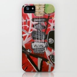Monster guitar iPhone Case